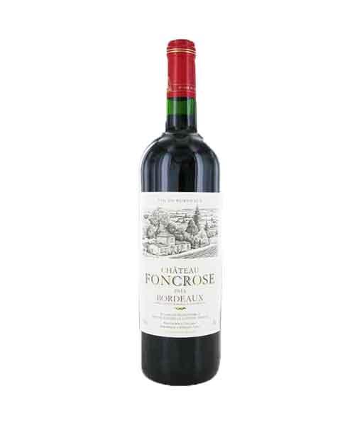 Rượu vang Pháp giá rẻ Chateau Foncrose Bordeaux