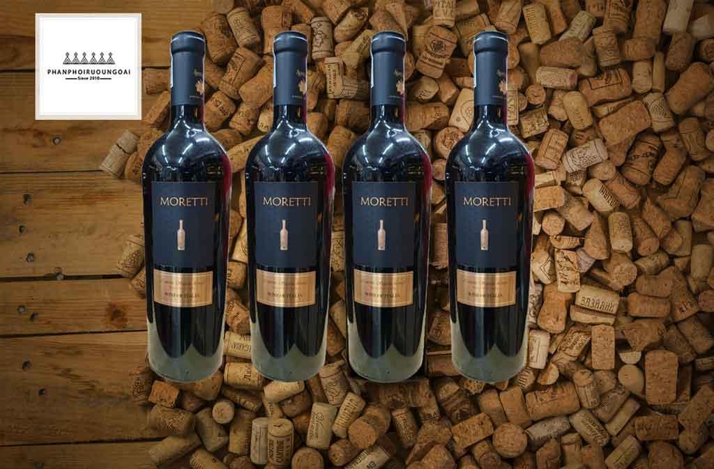 Rượu vang Ý giá rẻ nhất Moretti