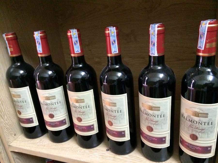 Rượu vang pháp giá rẻ Balmontee VCE