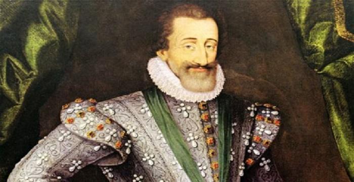 Vua Henri IV người đã mở đường cho các sản phẩm rượu vang Bordeaux
